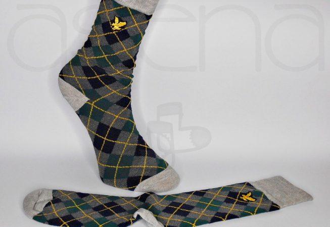 baklava desenli klasik çorap